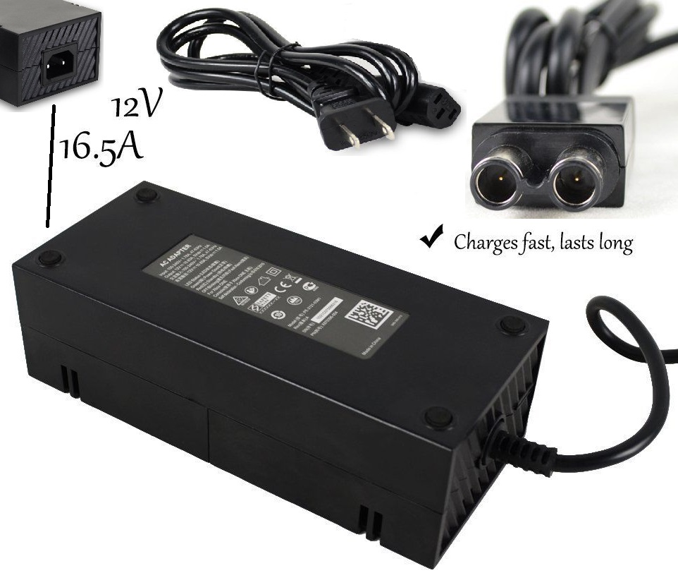 AC Adapter 12Vdc 16.5A 200W for Microsoft Xbox One PB-2201-020M1